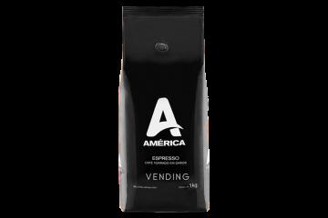 Café Espresso em Grãos América Vending